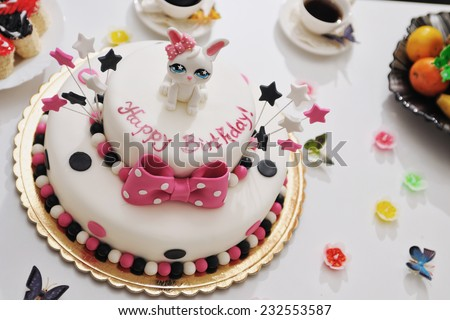 Happy Birthday Cake For Childrens Party