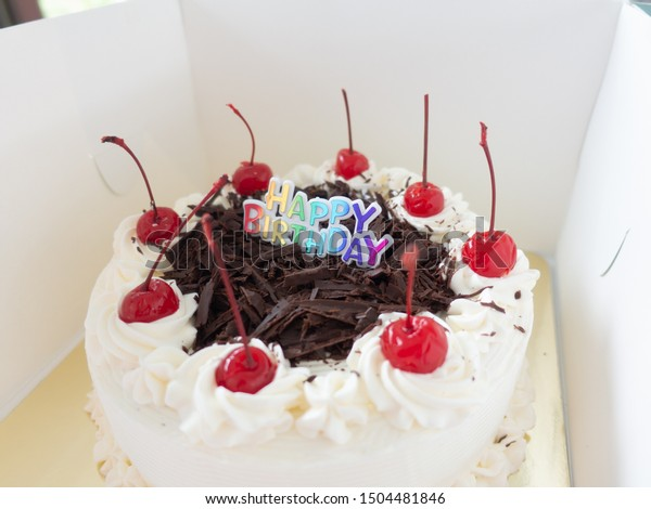 Fantastic Happy Birthday Cakes Happy Time Anniversary Stock Photo Edit Now Funny Birthday Cards Online Benoljebrpdamsfinfo