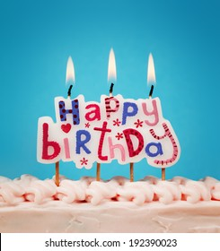 Happy Birthday Candles Images Stock Photos Vectors