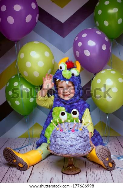 Astonishing Happy Birthday Funny Cake Boy Stock Photo Edit Now 177666998 Funny Birthday Cards Online Inifodamsfinfo