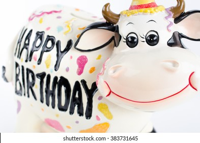 Wondrous Happy Birthday Cow Stock Photos Images Photography Shutterstock Funny Birthday Cards Online Overcheapnameinfo