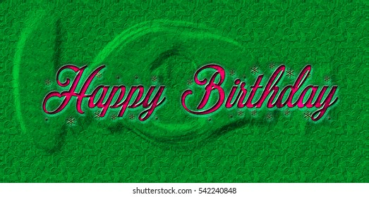Happy Birthday Greeting card background and gift tags.
