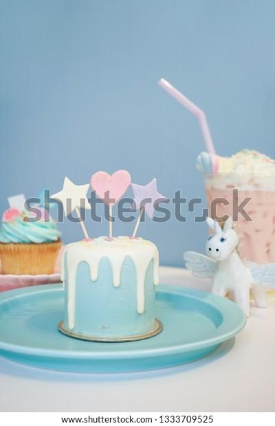 Super Happy Birthday Mini Birthday Cake Stars Stock Photo Edit Now Personalised Birthday Cards Vishlily Jamesorg