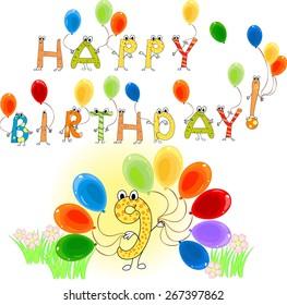 Happy Birthday nine years