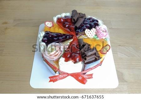 Orange slice cake with cake mix