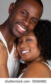 Happy Black Couple