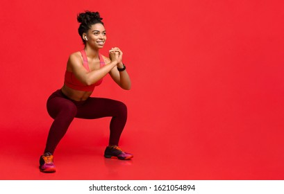 Slim Black Girl Working Out Images, Stock Photos & Vectors   Shutterstock