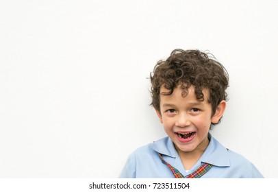 happy boy smiling  with happy face, happy boy