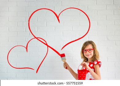 Heart Painting Images Stock Photos Vectors Shutterstock