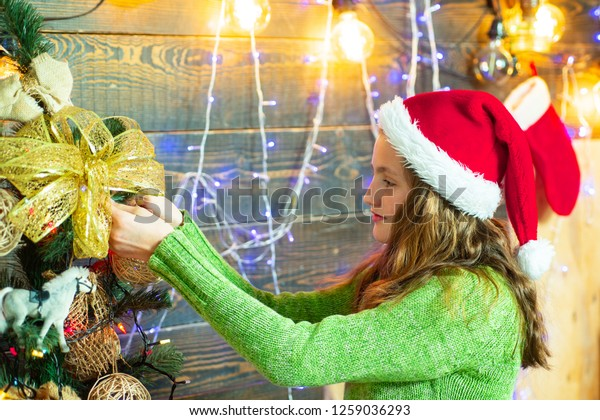 A Christmas Story Kid Now.Happy Children Children Gift Christmas Story Stock Photo