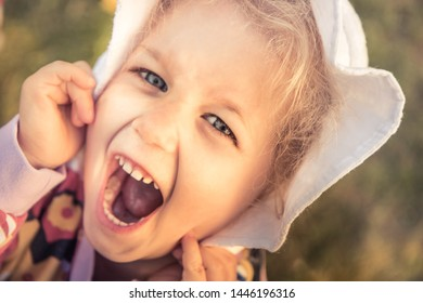 Happy children having fun carefree childhood lifestyle