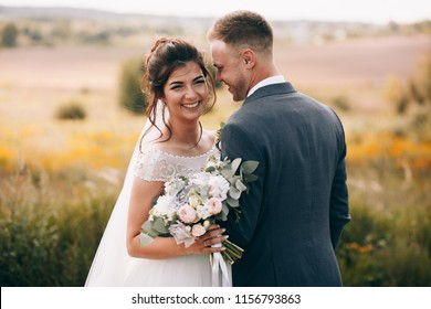 Happy couple.Wedding photo.Couple in love