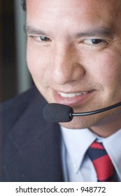 Happy Customer Service Help Desk