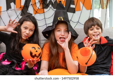 Halloween Kids Images Stock Photos Vectors Shutterstock