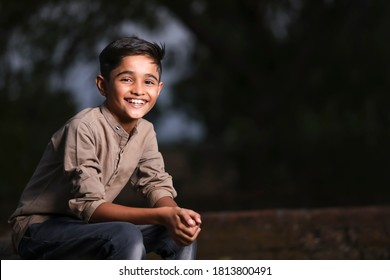 Happy cute indian / Asian Child