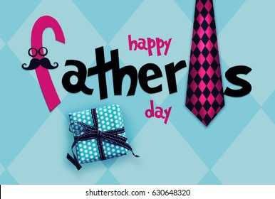 Happy Father´s Day greeting card.