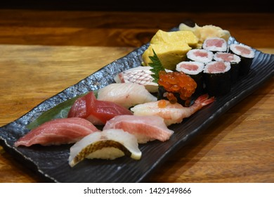 happy day with sushi dinner set