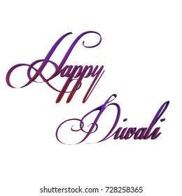 Happy Diwal .Indian Holiday.