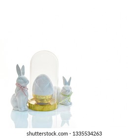 Happy Easter .Easter holiday concept luxury background
