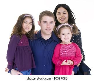 A happy family. Bonding, Love, marriage, children