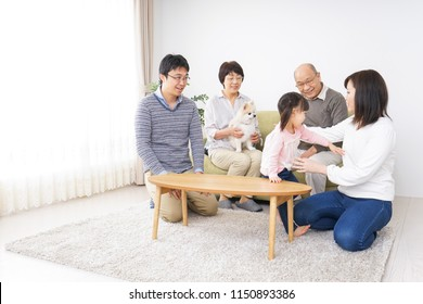 Happy family image