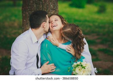 Husband Kissing Wife Images Stock Photos Vectors Shutterstock