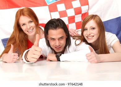 Happy fans