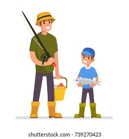 Father And Son Cartoons Images, Stock Photos & Vectors ...
