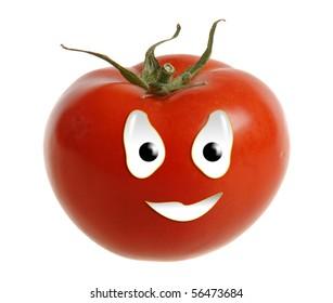 Happy food series - tomato