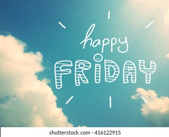 Happy Friday Images Stock Photos Vectors Shutterstock