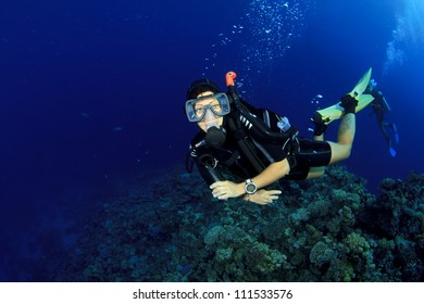 Happy friendly Scuba Diving Instructor