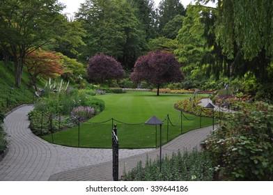 Happy Garden with walkway