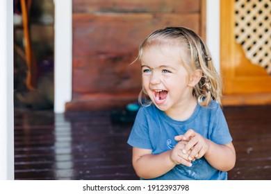 Happy girl portrait - Cirali, Antalya Province, Turkey
