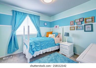 Blue Girls Bedroom Images, Stock Photos & Vectors | Shutterstock
