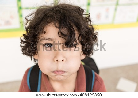 Happy Healthy Curly Hair Mixed Caucasian Stock Photo Edit Now