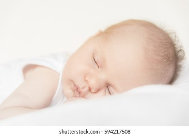 happy healthy cute newborn baby family boy girl