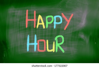 Happy Hour Concept