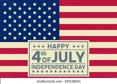 Happy Independence Day background template.