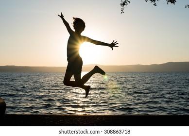 Happy, Jump