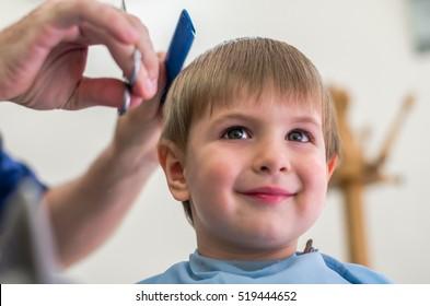Children Haircut Images Stock Photos Vectors Shutterstock