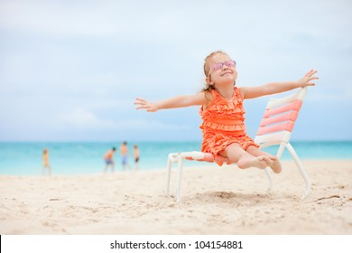 Kid Beach Chair Images Stock Photos Vectors Shutterstock