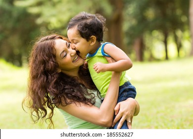 Indian Mother And Children Stock Photos, Images & Photography