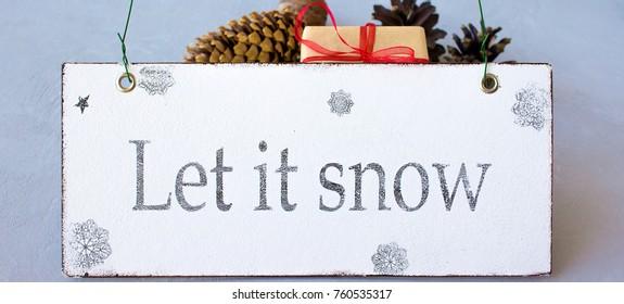 happy magic christmas let it snow