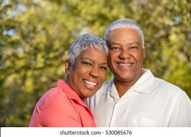 Happy Matue Couple