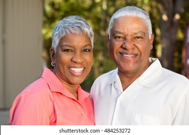 Happy Mature African American Couple
