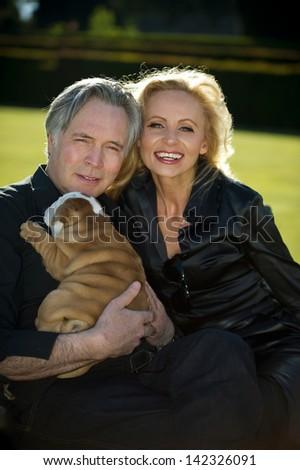 Mature english couple having fun