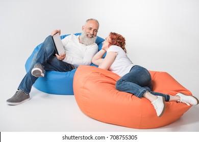 Fantastic Bean Bags Family Images Stock Photos Vectors Shutterstock Spiritservingveterans Wood Chair Design Ideas Spiritservingveteransorg