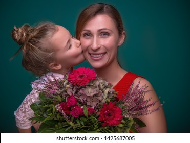 happy mother with child on mothersday