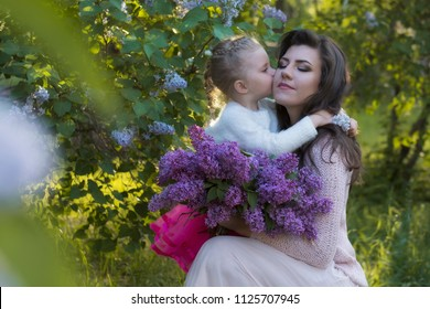 Royalty Free S Kiss Mother And Daughter My Mother Images Stock