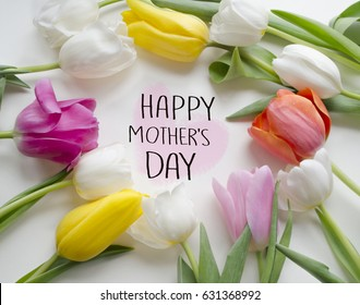 Happy Mothers Day tulips.